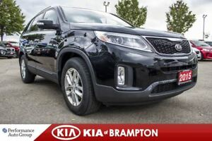 2015 Kia Sorento LX. BLUETOOTH. HTD SEATS. CRUISE. PARKING SENSO