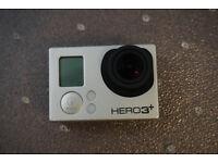Gopro Hero 3 Plus Black edition with accessories (hero3+)