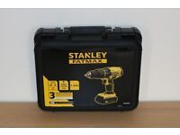 Brand New Stanley FatMax Cordless Drill with 2 Batteries