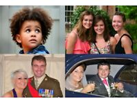 Photographer for weddings, families, model shoots, parties, headshots, children