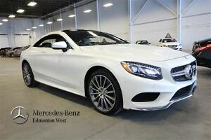 2015 Mercedes-Benz S550 4MATIC Coupe Exclusive Package w/Night V
