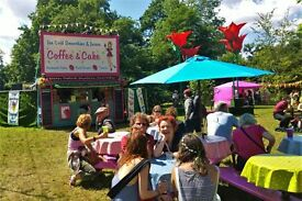 Do Something different this summer - Baristas and catering staff needed for festivals