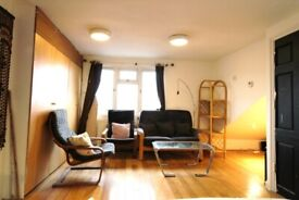 HUGE SUPER STUDIO FLAT WITH SEPARATE KITCHEN NEAR ZONE3/2 NIGHT TUBE, 24 HOUR BUSES & SHOPS