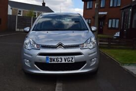 CITROEN C3 VTR+ 1.2 VTi, LOW MILEAGE, £20 TAX