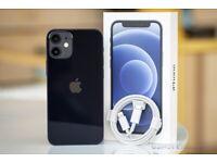 I phone 12 mini black excellent condition 64gb