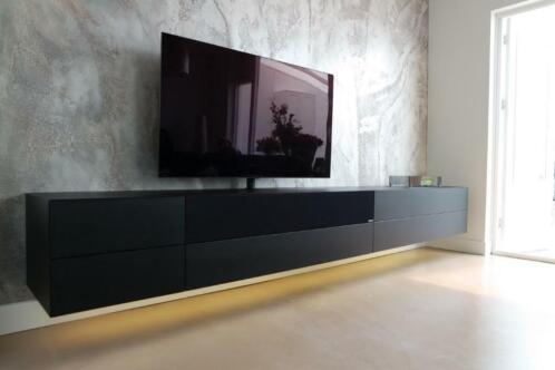 Hangende Soundbar Kast Voor Sonos Arc En Keramische Haard 29 Kasten Tv Meubels Marktplaats Nl