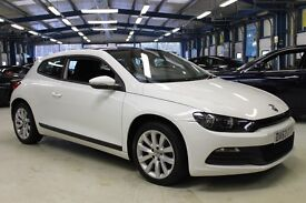 VW Scirocco GT TDI BLUEMOTION TECHNOLOGY DSG [NAV / PANO ROOF / DAB RADIO] (bright white) 2013