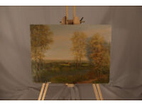 original oil painting - Forest Edge - by Chretienne Corrie