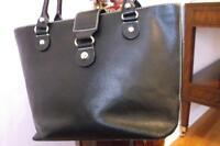 100% AUTENTIQUE KATE&SPAIDE BLACK LEATHER BAG