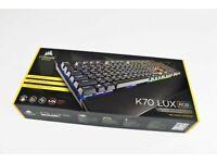Corsair K70 LUX RGB Mechanical Gaming Keyboard (black)