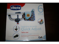 Chicco quick adjust table seat