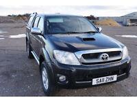 Toyota Hilux 3.0 D-4D Invincible Double Cab Pickup 4dr - £11,200+VAT