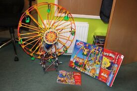 KNEX FERRIS WHEEL - MUSICAL AND ELECTRONIC