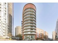 8th floor ONE bedroom flat with GYM, SWIMMING POOL access, 24hr PORTER, BALCONY, AVAIL NOW, E14 9QT
