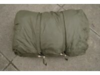 Italian Army Issue Alpine Sleeping Bag and Bivi Bag/Cover