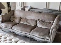 Biscuit coloured sofa - Quick Sale