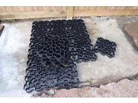 Gravel protector tiles approx 5sqm