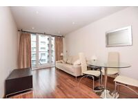 Stylish 1 bed with balcony, set within Chelsea Bridge Wharf development ,Queenstown Road SW8