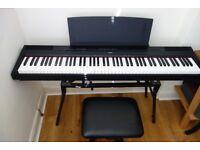 Yamaha P115 Digital Piano with accessories