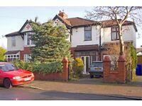 £300pcm, large double bedroom, semi detached houseshare, Chorlton Longford Park
