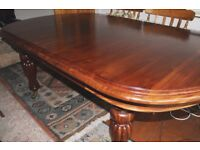 Table Dinning Mahogany