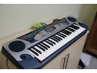 Musical Keyboard Yamaha psr-160 in perfect working order, with plug and adapter