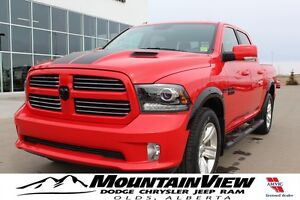 2016 Ram 1500 Sport TORRED EDITION! ONLY 8800 KM!