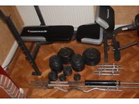 HOME GYM/ BENCH/ WEIGHT/ BARS