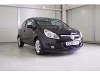 2008 Vauxhall Corsa 1.2i 16v Design, New MOT Superb Value