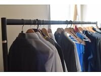 Heavy Duty Clothes Rail Garment Rail 6ft Long x 5ft High SUPERIOR QUALITY