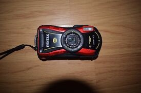Pentax Optio WG-10 Camera Red 14MP 5xZoom 3.0LCD Wtprf