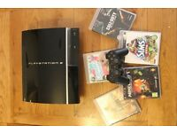 Playstation 3 with controller and games bundle