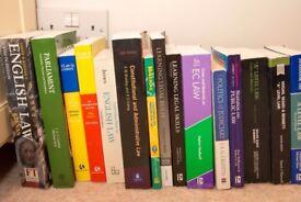 15 Miscellaneous Law Textbooks