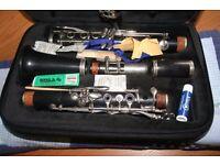Boosey & Hawkes Emperor wooden clarinet