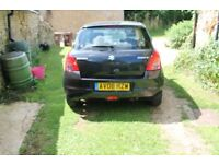 2008 Black Suzuki Swift, Less than 75000 miles 4 Prev. Owners, 8 Service Stamps