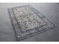 Persian Kashan Rug Carpet 20th Century - 30-35 years old Perfect Condition