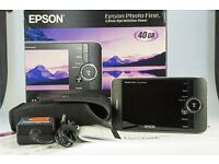 Epson P-2000 Multimedia Storage Viewer 40Gb capacity CF and SD card slots