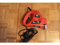 Black and Decker 400W Scorpion saw (jigsaw and handsaw multiple functionality)