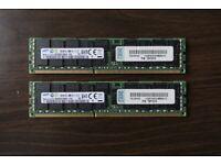 2x 16GB 32GB DDR3 ECC RAM Apple Mac Pro