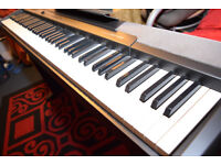 Casio CDP-100 88-Note Weighted Hammer Action Digital Piano with wooden stand and sustain padel
