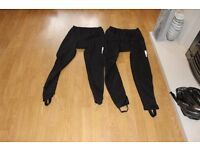 Gents Cycling Waist Tights 2 Pairs