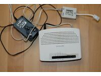 Router wifi modem for internet