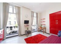 BIG AND BRIGHT STUDIO FLAT, Marylebone, perfect for Students, WITH BALCONY **MUST SEE**