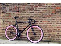 GOKU CYCLES Special Offer! Steel Frame Single speed road TRACK bike fixed gear racing bike 3q
