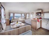 Luxury silver caravans to hire with room for all the family on the Northumberland coast from £195