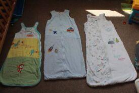 3 sleeping bags
