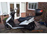Due to heath problems I am selling my Yamaha Cygnus scooter