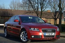 2008 AUDI A4 SE 12 months mot HPI clear Vosa verified red