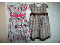 4-5 years old dresses (NEW)