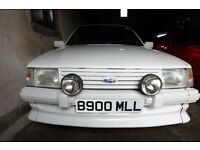 1984 FORD ESCORT XR3i CABRIOLET IN WHITE RESPRAYED AND REUPHOLSTERED /RESTORED